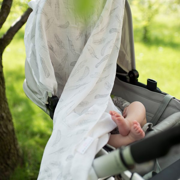 Tetra plenica za pokrivanje proti komarjem - Silver Feathers