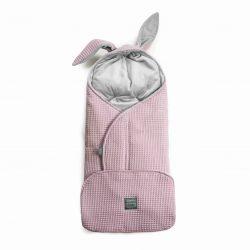 Vreča/odejica za jajčko GOFER – vijolično roza