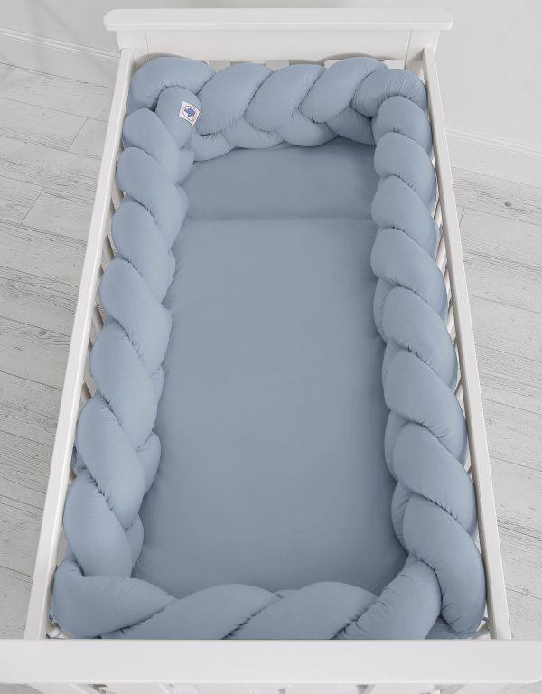 Obroba kitka 360cm pastelno modra