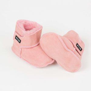 Snugi merino škorenjčki - Pink