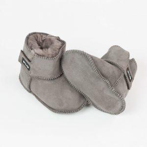 Snugi merino škorenjčki - Grey