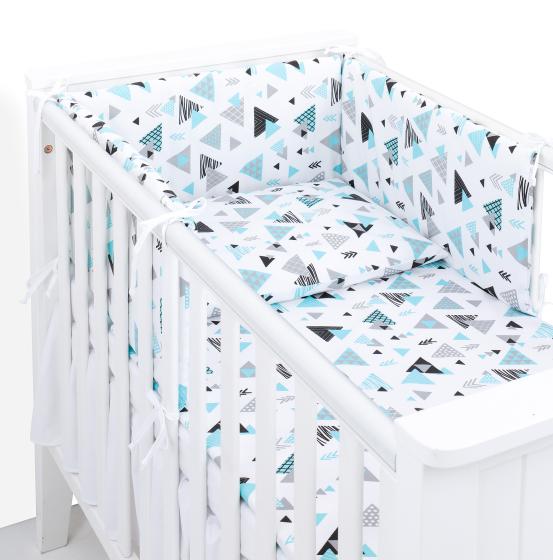 3 delna obojestranska posteljnina bela – Tresor