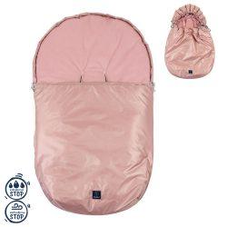 Vodoodporna zimska vreča za jajčko in voziček + GRATIS zimske rokavice umazano roza