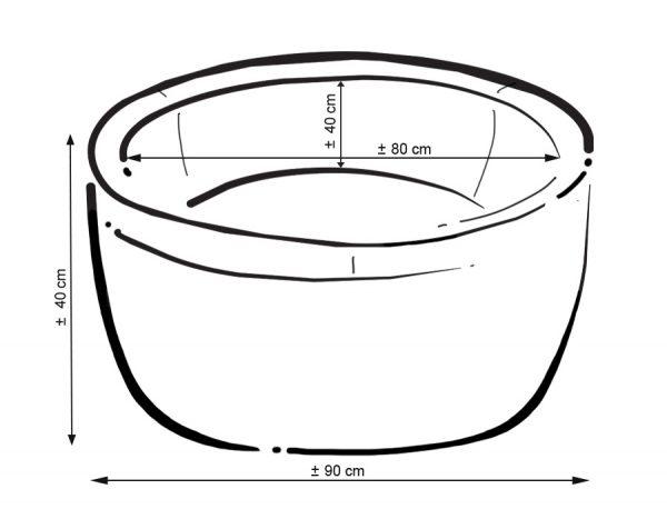 Didaktičen/igralni bazen z žogicami