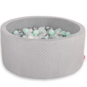 Didaktičen/igralni bazen z žogicami – svetlo siv