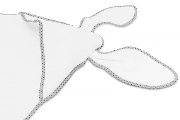 Kopalna brisača s kapuco Bellochi zajček - grey