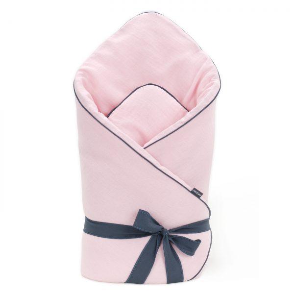 Muslinova swaddle odejica - svetlo roza