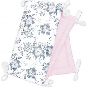 Obroba za posteljico 30×180 cm – Pink Berry