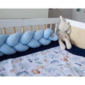 Vafelj obroba kitka - nebeško modra