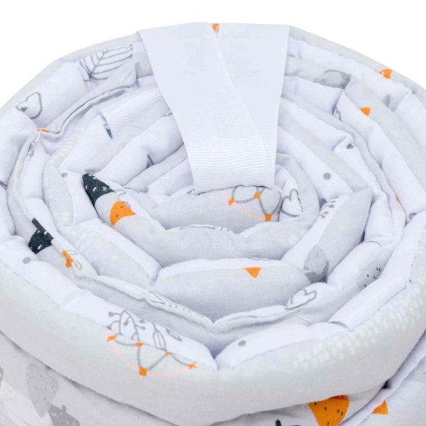 Obroba za posteljico 30×180 cm - Apanatschi