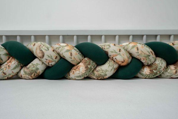 Obroba kitka jersey 180 cm - Magic Forest