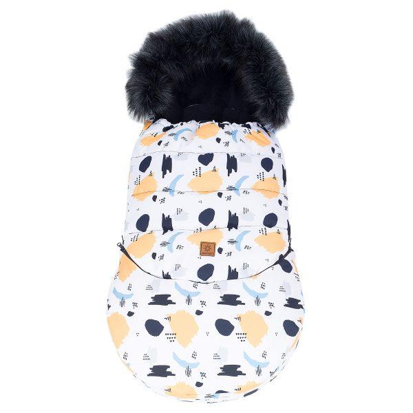 Zimska vreča 3v1, ki raste z otrokom - madeži