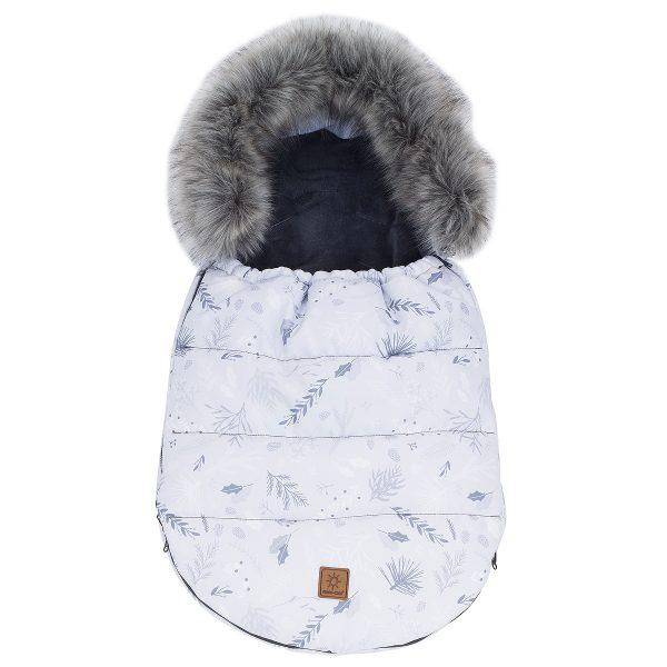 Zimska vreča 3v1, ki raste z otrokom - sive vejice