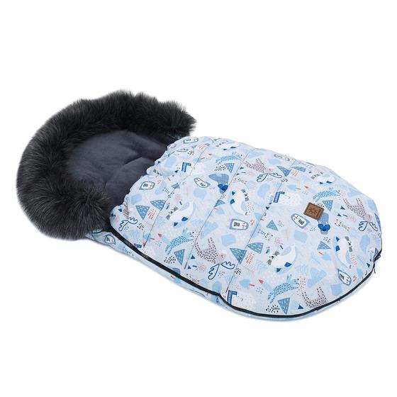 Zimska vreča Lux - Antarktika s sivo
