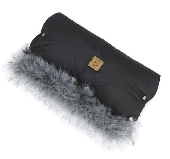 Muff za voziček Lux - črne