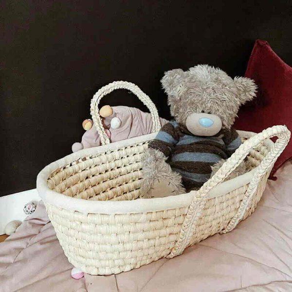 Mojzesova košara za lutke in dojenčke