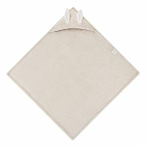 Kopalna brisača zajček iz 100% bambusa - bež