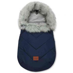Zimska vreča winter X - temno modra